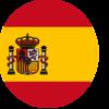bandera española circular